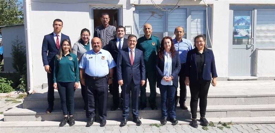 Bölge Müdür Yardımcılarımız Hasan YASSIBAŞ ve Hüseyin Yavuz Bağlantı Gümrük Müdürlüklerimize Çalışma Ziyareti Gerçekleştirdi.