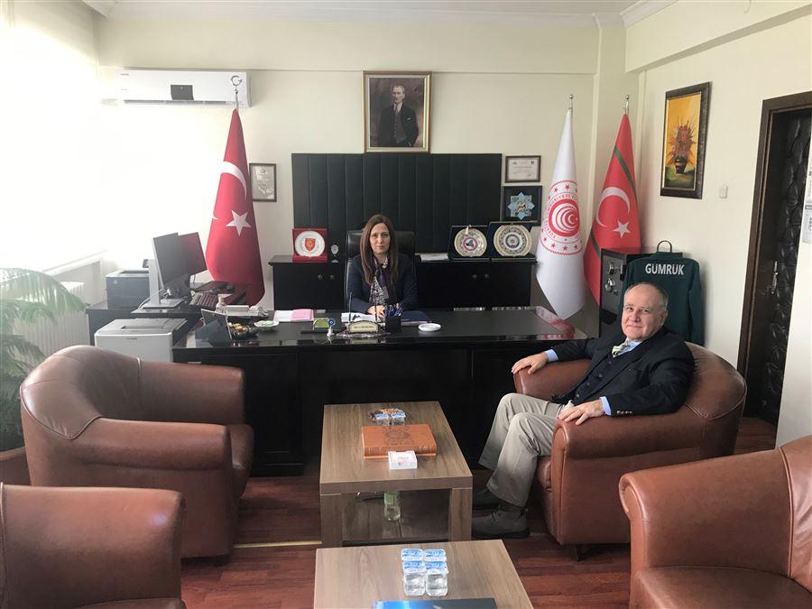 Orta Anadolu İhracatçılar Birliği Genel Sekteri Özkan AYDIN'dan Bölge Müdürümüze İadeiziyaret