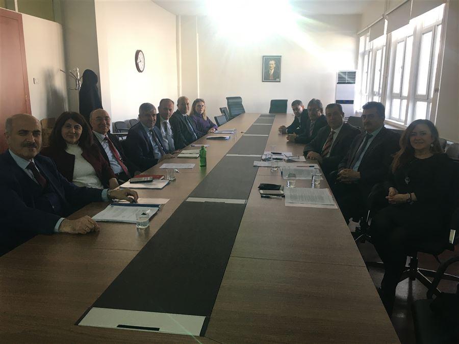 Bölge Müdürlüğümüz İdarecileri ile Çalışma Toplantısı Düzenlendi.