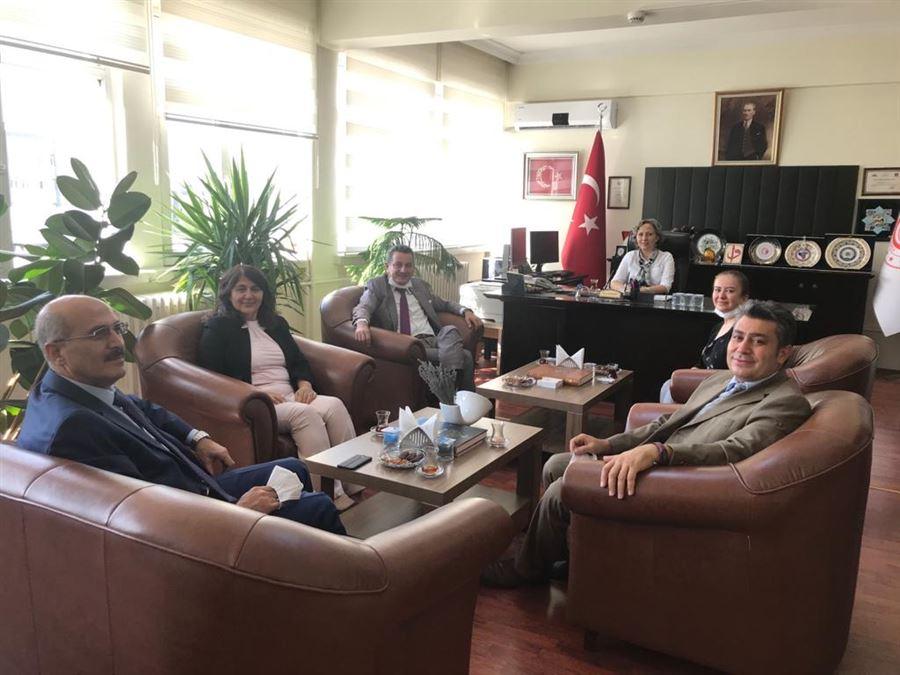 Esenboğa Havalimanı Mülki İdare Amiri Sayın Murat SOYLU Ziyareti