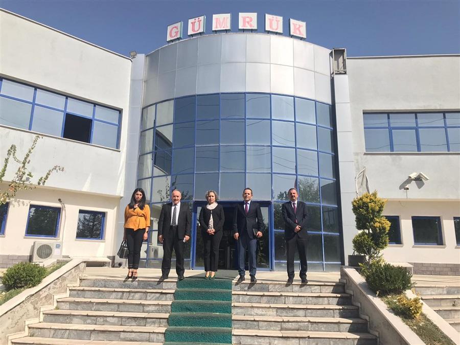 Bölge Müdürümüz Havva EKSİLMEZ Kayseri'de Çalışma Ziyareti Gerçekleştirdi.