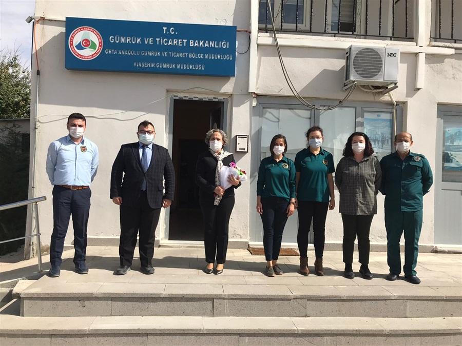 Bölge Müdürümüz Havva EKSİLMEZ Kırşehir'de Çalışma Ziyareti Gerçekleştirdi.
