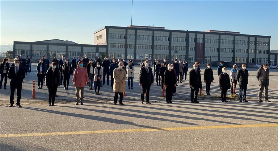 10 Kasım Atatürk'ün Ebediyete İntikalinin 82. Yıldönümü Anma Töreni