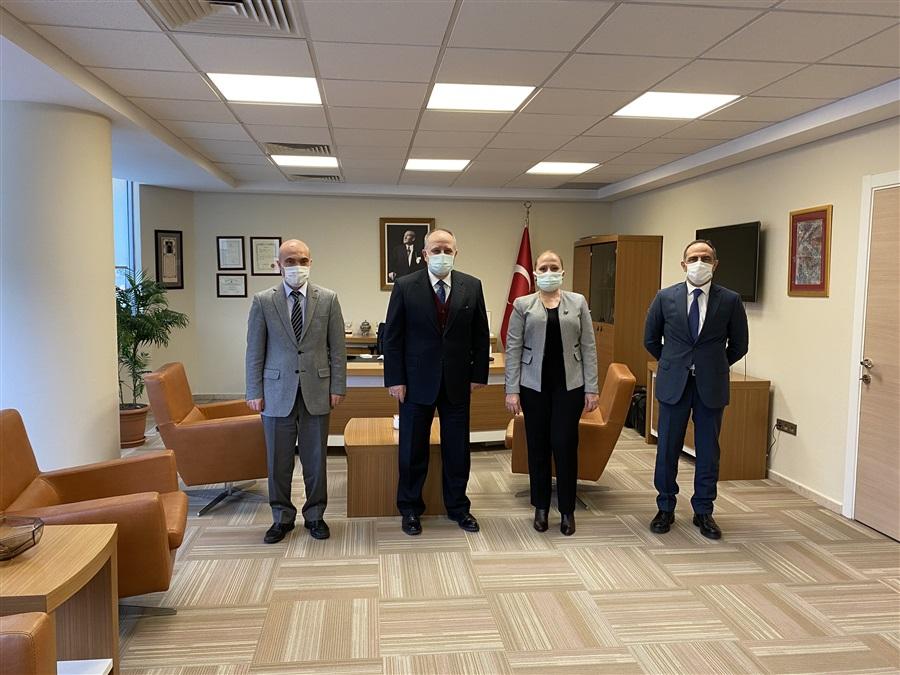 Bölge Müdürümüz Havva EKSİLMEZ Orta Anadolu İhracatçılar Birliği Genel Sekreteri Özkan AYDIN'ı Ziyaret Etti.