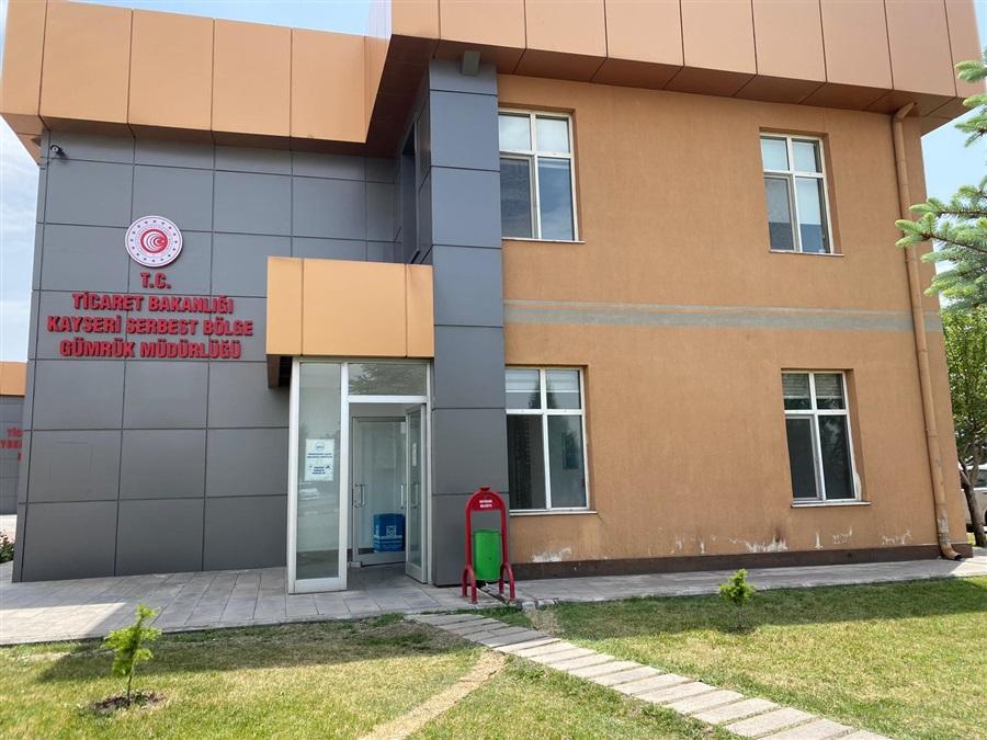 Kayseri Serbest Bölge Gümrük Müdürlüğü Faaliyete Geçti