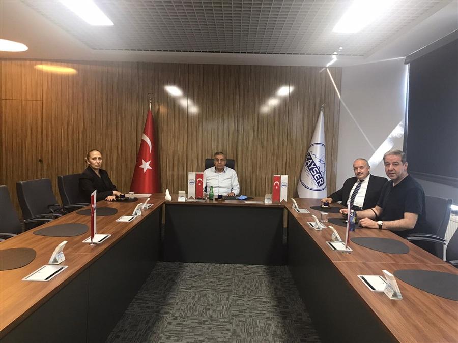 Bölge Müdürümüz Havva EKSİLMEZ'in KAYSER A.Ş Ziyareti