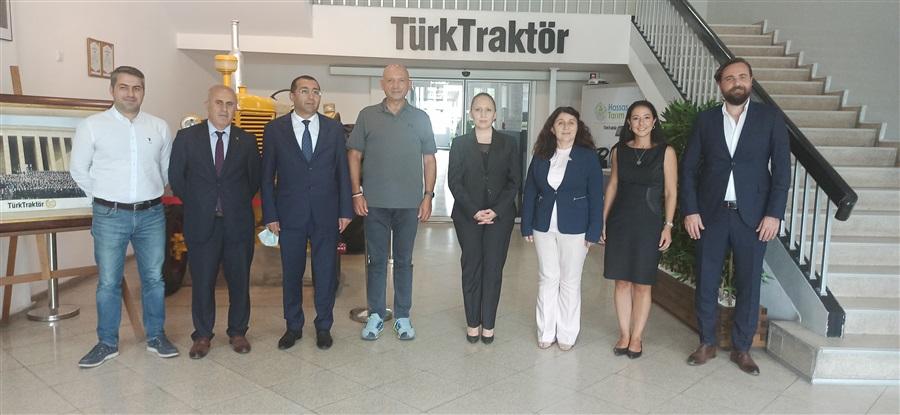 Bölge Müdürümüz Havva EKSİLMEZ'in TürkTraktör A.Ş Ziyareti