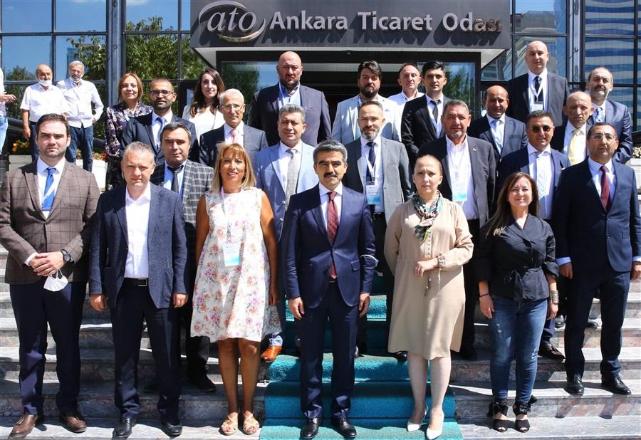Bölge Müdürümüz Havva EKSİLMEZ Ankara Gümrük Müşavirleri Derneği Toplantısına Katıldı.