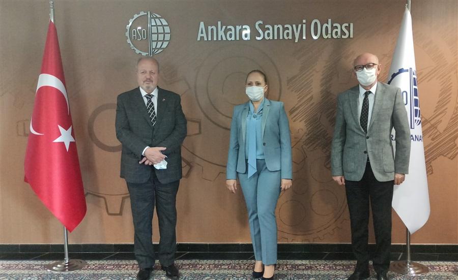 Bölge Müdürümüz Havva EKSİLMEZ'in Ankara Sanayi Odası Ziyareti